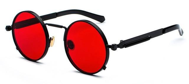 Metal Frame Retro Vintage Round Sun Glasses Uv 400 Shefanc Com In 2021 Red Sunglasses Red Sunglasses Men Sunglasses
