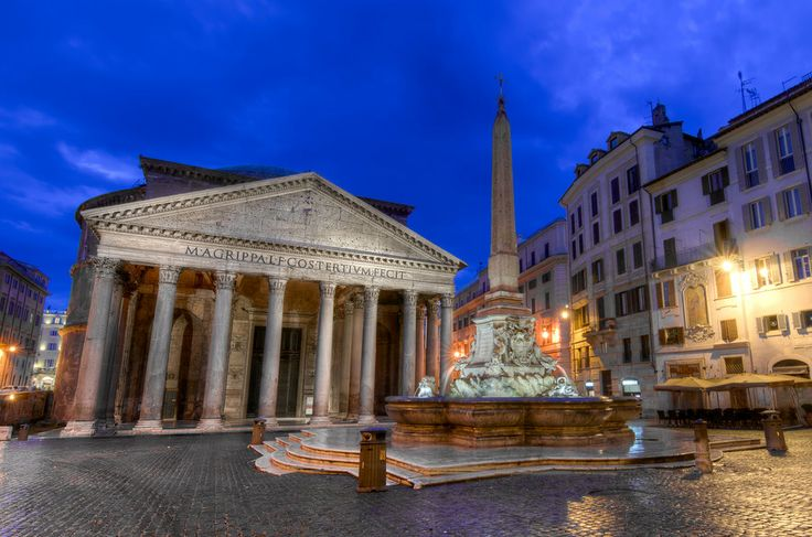 Pantheon, Rome.  by Alireza Behrooz on 500px