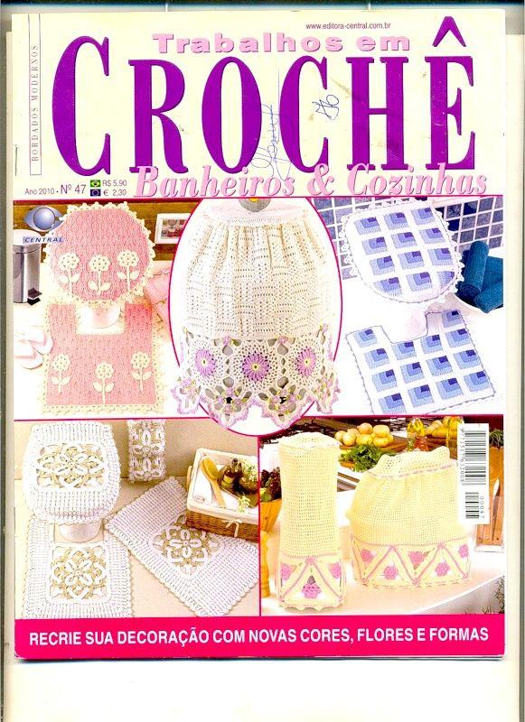 Trabalhos em Croche - Banheiro&Cozinha №47 2010