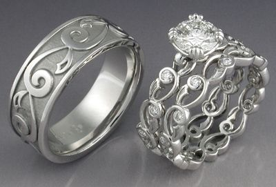 Celtic Rings - Claddagh Rings from Glencara