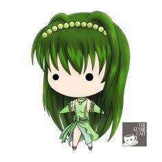 Mermaid Melody Pichi Pichi Pitch keybies - Rina