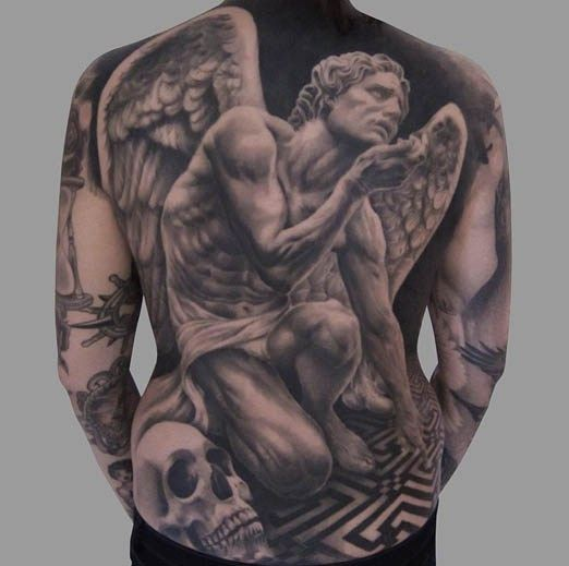 Black and Grey Tattoo by Giovanni Speranza. | geniale ...