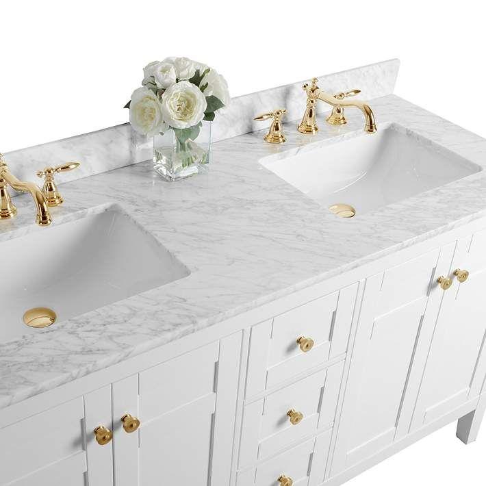31++ Marble double sink vanity top diy