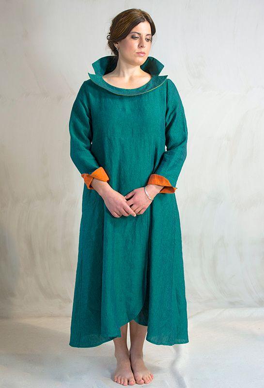 Palma dress £325, linen.