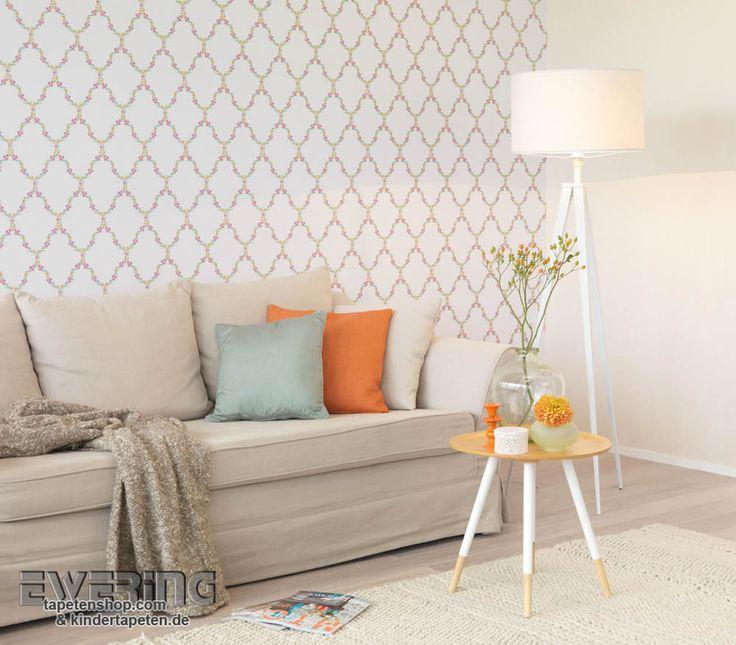 37 best Petite Fleur - Tapeten im Landhaus Chic von Rasch Textil - tapeten rasch wohnzimmer