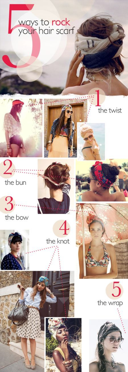 5 idée de coiffure avec un foulard @valeriemousseau