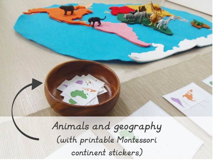 Continent stickers