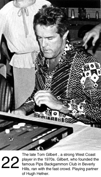 Tom Gilbert.....backgammon guy            Play backgammon ► on.fb.me/1869cF3