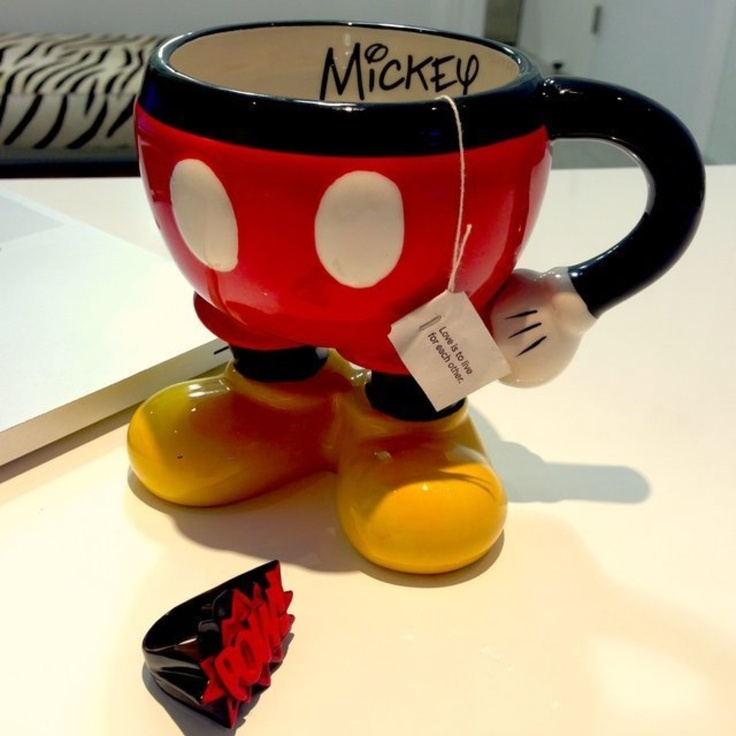 Mickey mouse disney mug cup. Adorable gift for that disney lover in your life!