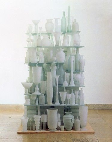 Tony Cragg - found glass