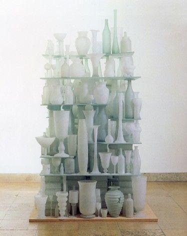 Tony Cragg - found glass