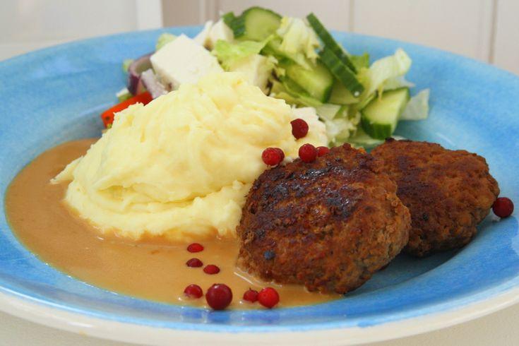 Pannbiffar med fluffigt potatismos | Jennys Matblogg | Damernas Värld
