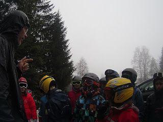 Classe de neige de l'école Saint Wulmer 2017