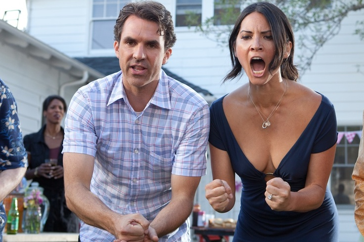 Olivia Munn in The Babymakers.