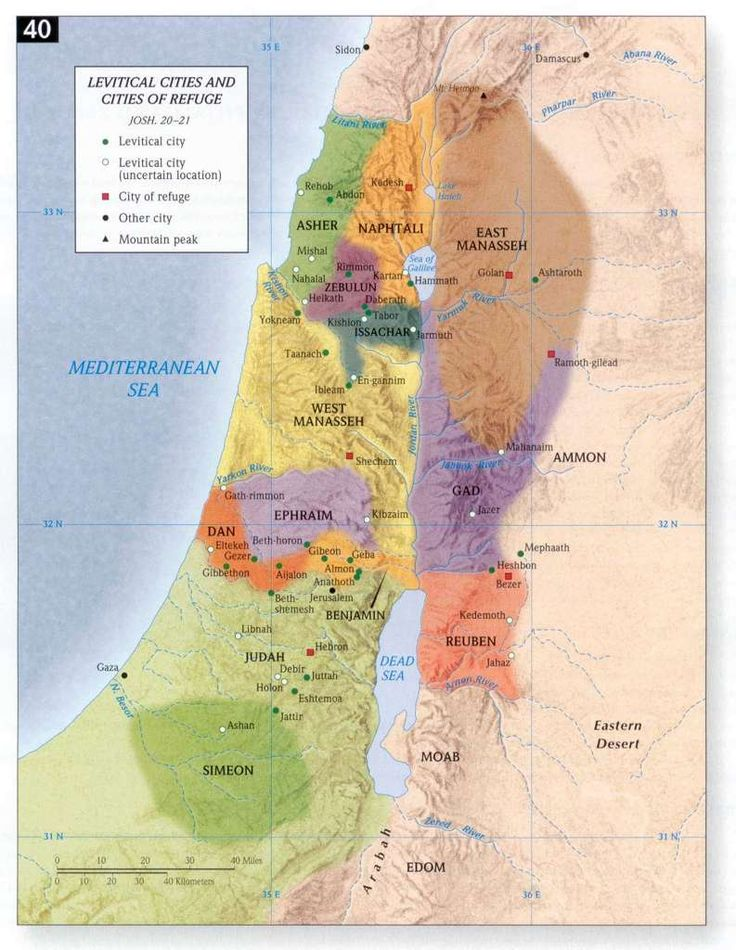 six biblical cities of refuge 39 best