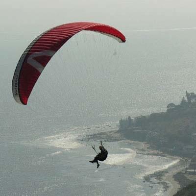 Tandem Paragliding Ride: Non Powered, Malibu, California - Kijubi.com