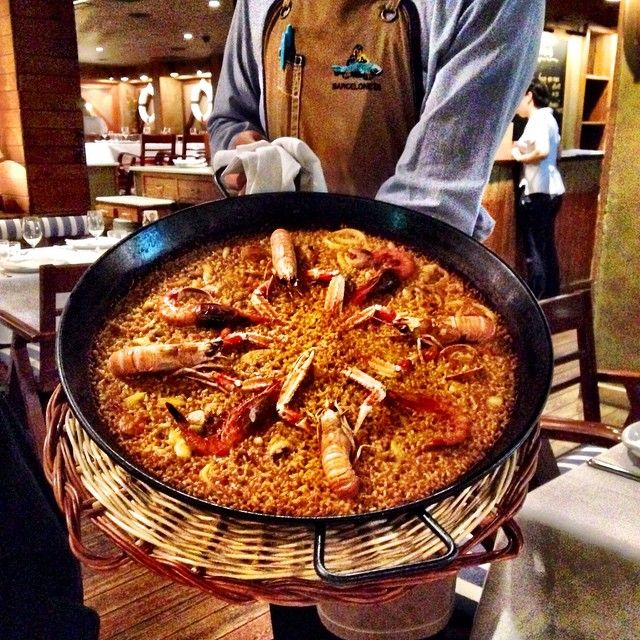 Craving Paella, but can't quite make it to Spain for dinner time? We've got the solution: America's Best Tapas Restaurants. Photo courtesy of thejetsetredhead on Instagram.