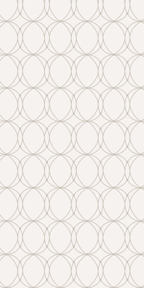 Self-adhesive Removable Wallpaper Linked Rings by EazyWallpaper