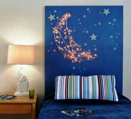 Give your child the moon and the stars with this crafty DIY