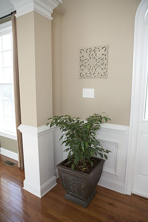 Paint Color Lenox Tan By Benjamin Moore