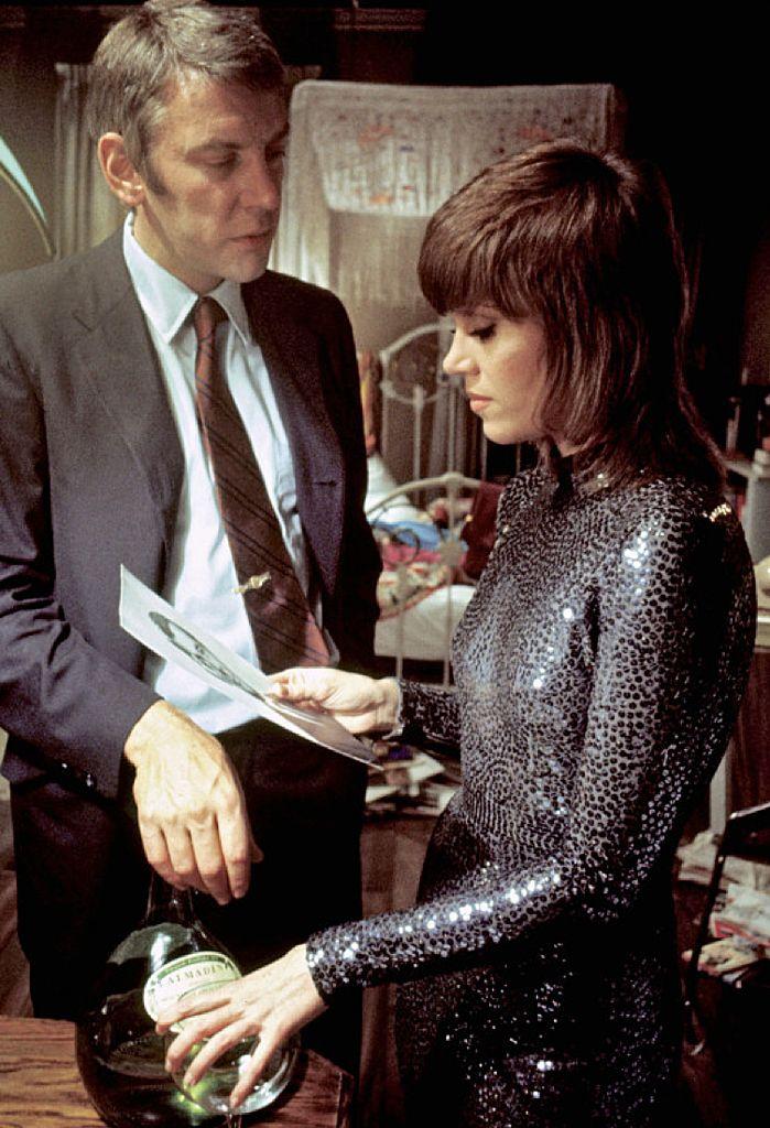 Jane Fonda & Donald Sutherland in Klute (1971)