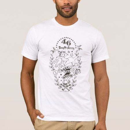 Tom and Jerry Obey The Master 1 T-Shirt - tap to personalize and get yours