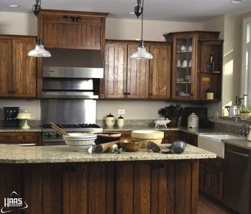 Haas Cabinets Traditional Kitchen