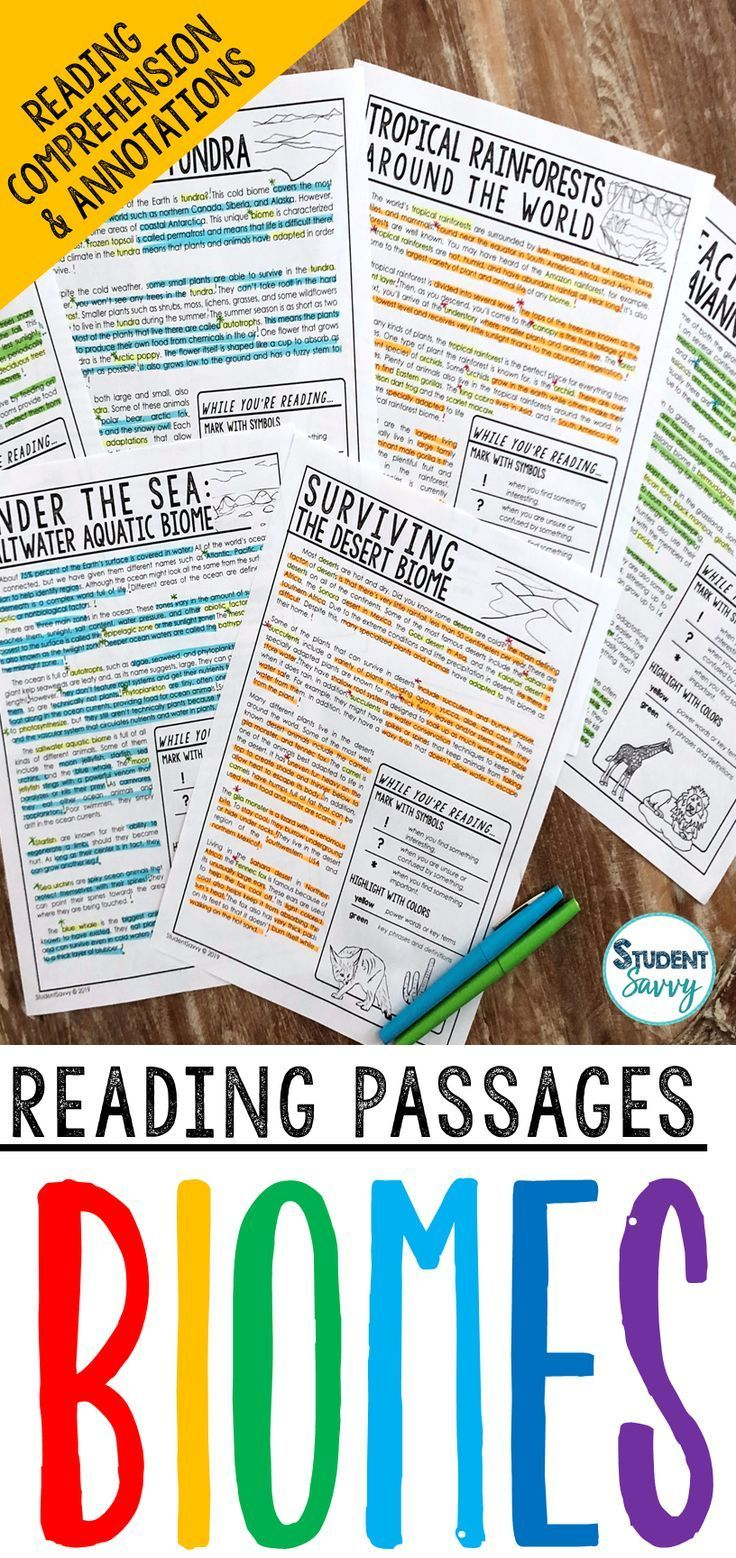 Comprehension Passages Reading Passages Science Teaching Resources Life Science Lessons [ 1558 x 736 Pixel ]