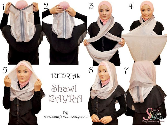 Eternity scarf hijab