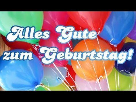 Alles Gute zum Geburtstag [Wunderschöne Geburtstagswünsche mit