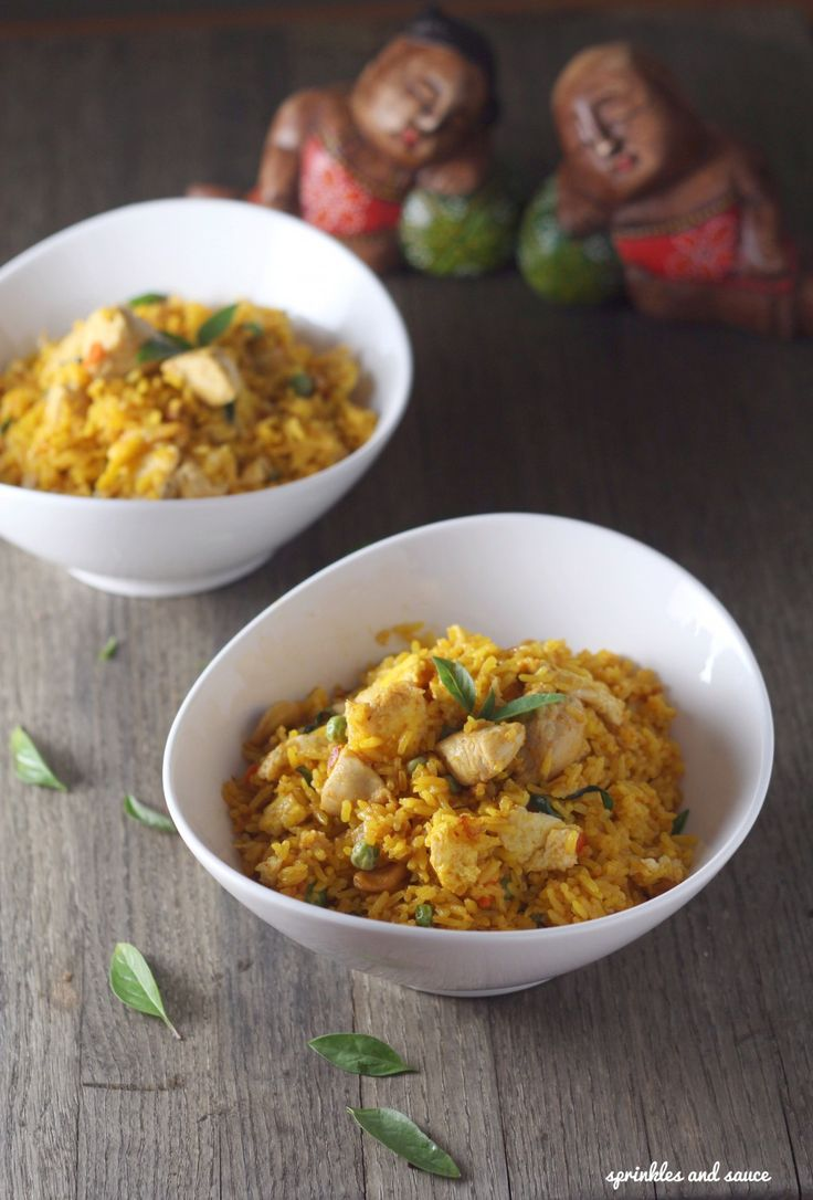 anyone craving some thai flavors?--check out the recipe for this fried rice one pot meal!