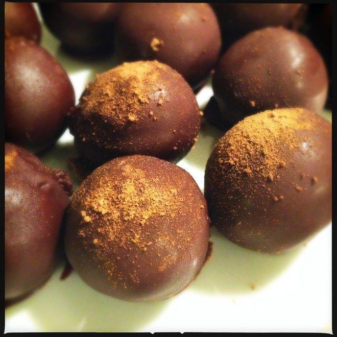 Lakridstrøfler - konfekt