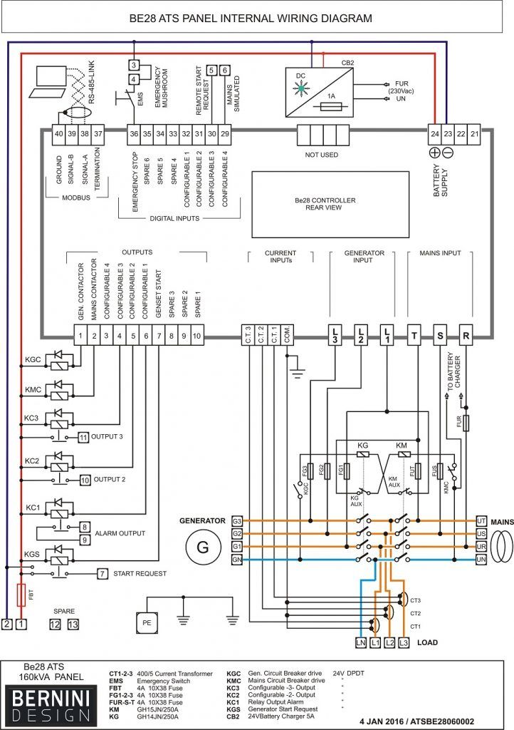 Plc Panel Wiring Diagram Ats Panel Wiring Diagram in 2020 | Electrical  panel wiring, Transfer switch, ElectricityPinterest