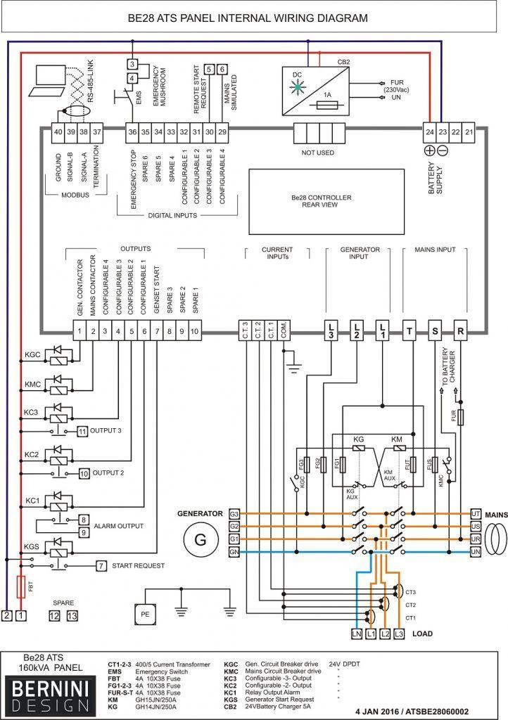 26 good electrical panel wiring diagram  bacamajalah