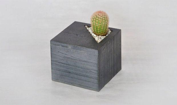 Concrete planters by LAbC Design