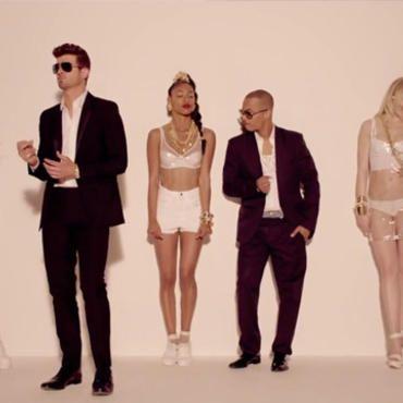 Pharrell i Thicke słono zapłacą za swój wielki hit! Zobacz więcej!