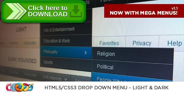 [ThemeForest]Free nulled download HTML5/CSS3 Drop Down Menu from http://zippyfile.download/f.php?id=45843 Tags: ecommerce, css3, dark, drop down menu, html5, light, semantic