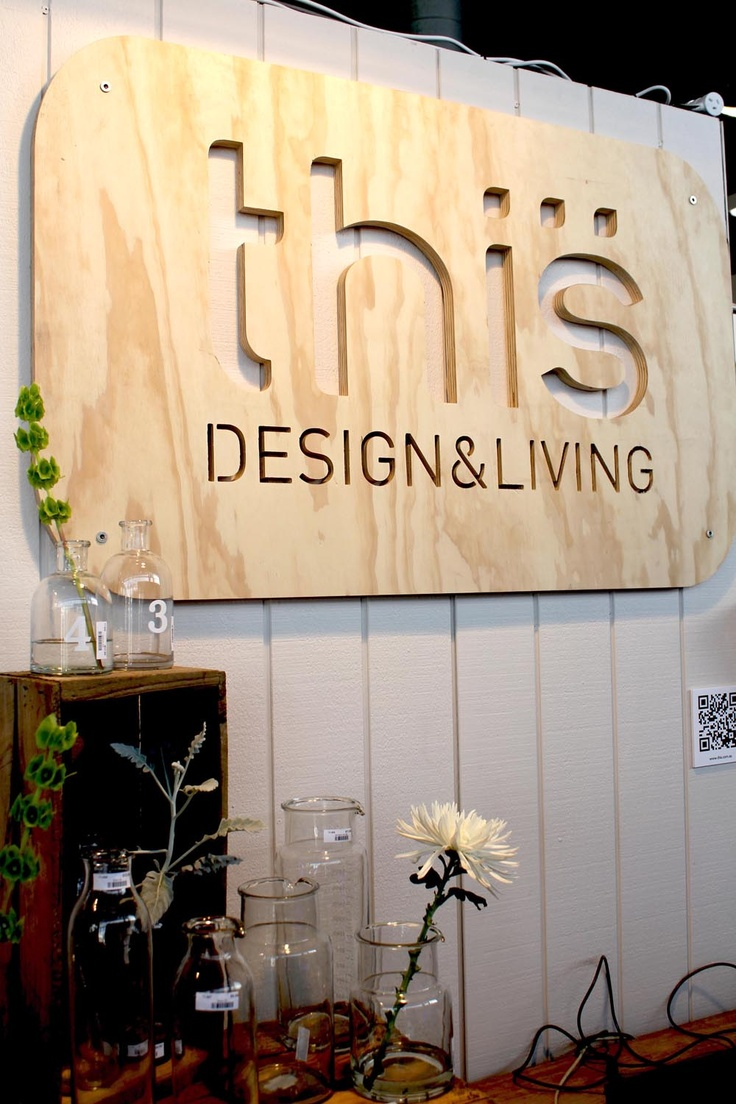 New sign at Melbourne gift fair