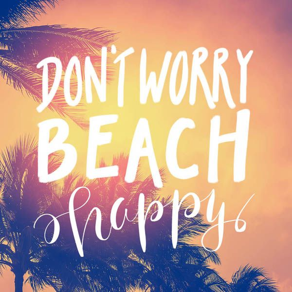 Don't worry Brach Happy Don't worry Brach Happy