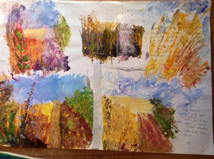 Studio SE22 landscape sketchbook ideas
