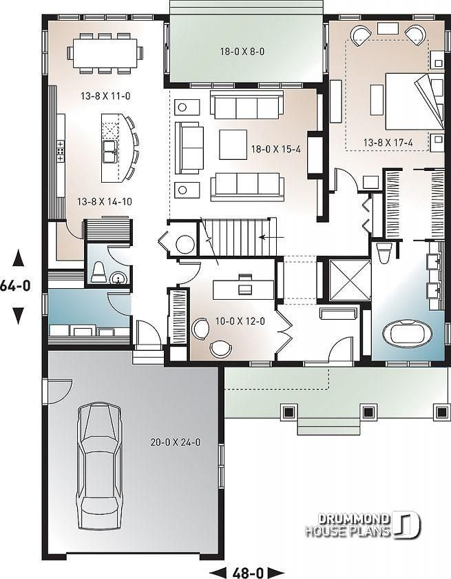 Discover The Plan 3616 V1 Anniston 2 Which Will Please You For Its 4 Bedrooms And For Its Country Styles House Plans New House Plans Shed House Plans