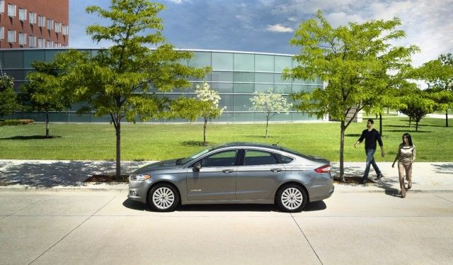 2016 Ford Fusion Hybrid Review, Ratings, Specs, Prices, and Photos - The Car Connection