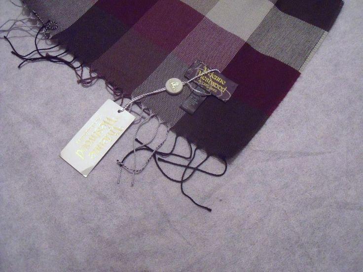 Vivienne Westwood Designer Unisex Poncho-scarf - BNWT - RRP £280 - Gift idea  | eBay