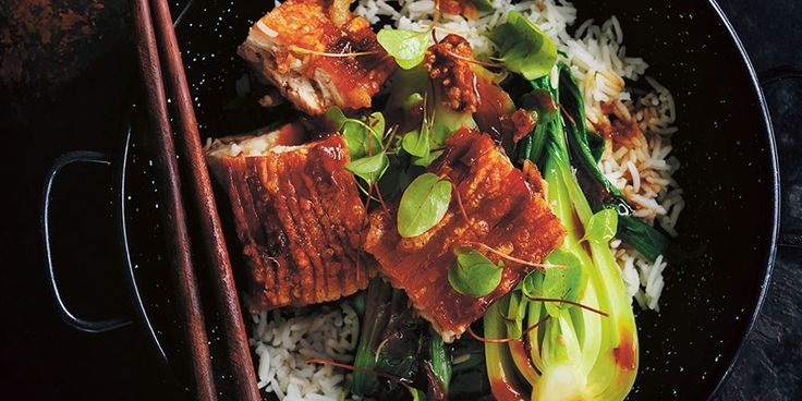 Pork Belly Rice Bowls with Chilli Caramel Sauce - Lifestyle FOOD