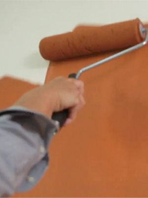 """#Paint your #walls in a """"W"""" pattern with your roller to ensure even coverage and smooth blending."""