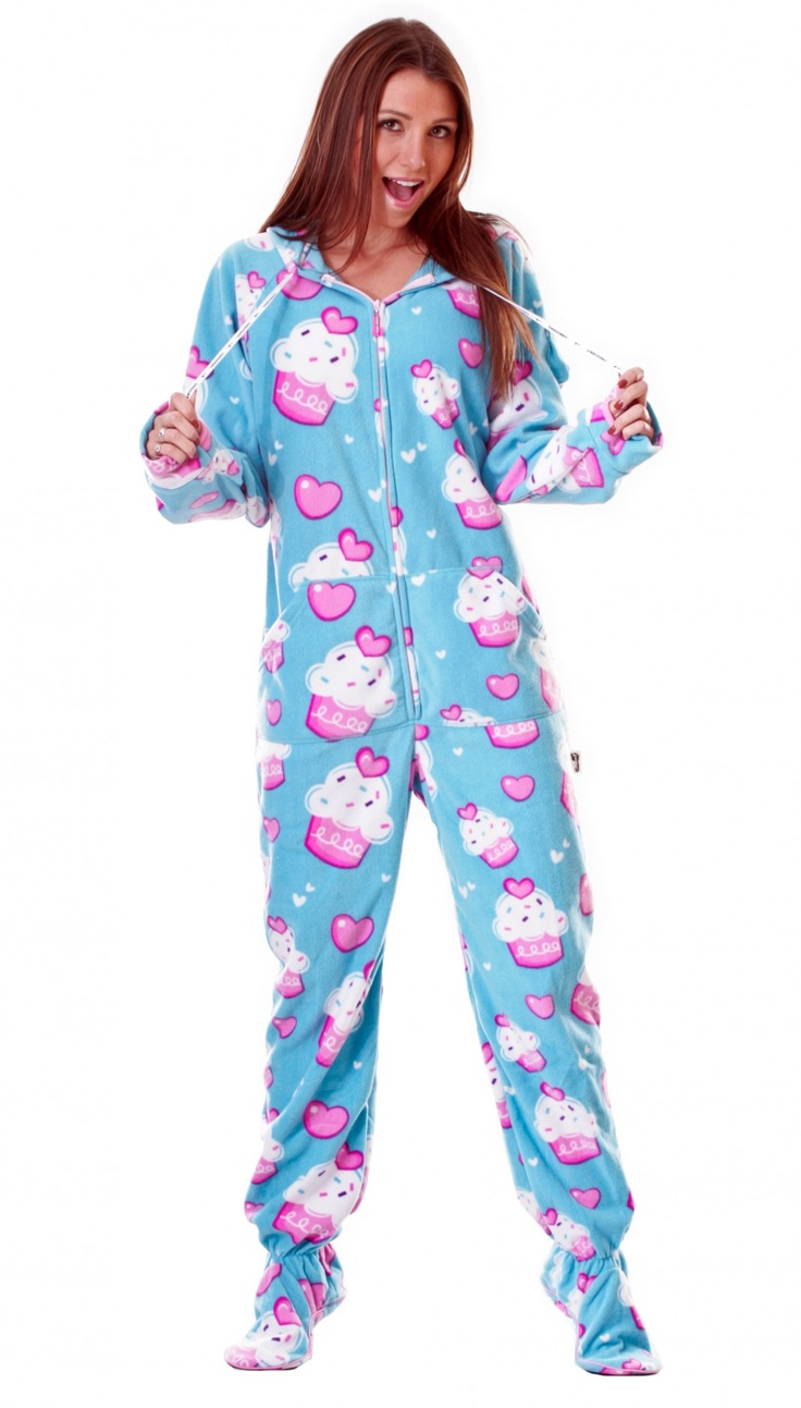 Cute Footie Pajamas For Teenagers Breeze Clothing