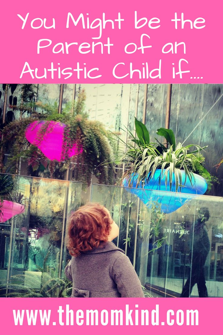 You Might be the Parent of an Autistic Child if.... Why keeping your sense of humor is important when having children with autism    Keywords - Autism Awareness, Autism Quotes, Autism Moms, Autism Spectrum Disorder Parenting, Autism Spectrum Disorder Posts