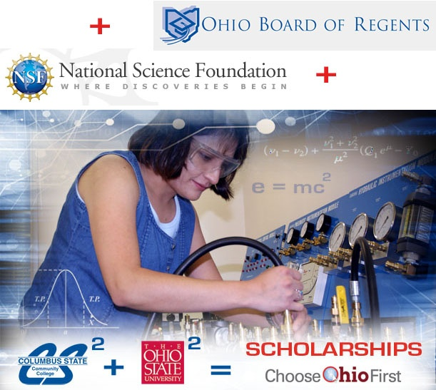 I got a full scholarship at Columbus State Community College in Columbus, Ohio just for being interested in science, math, technology, or engineering! If you're from the columbus area and are considering getting a degree in one of those fields, you need to check this scholarship out!!!