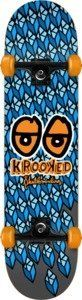 """Krooked Kubed Complete Skateboard - 8"""" x 32"""" by Krooked. $93.98. This Krooked skateboard comes with Krooked trucks & Krooked wheels. No assembly required."""