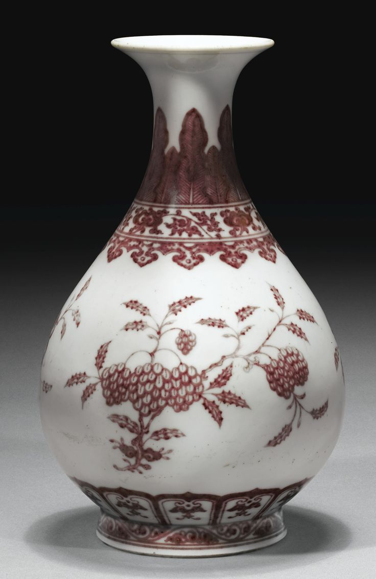 495 best vintage vases ii images on pinterest vintage vases red and white porcelain vase qing dynasty sold for 961500 at sothebys reviewsmspy